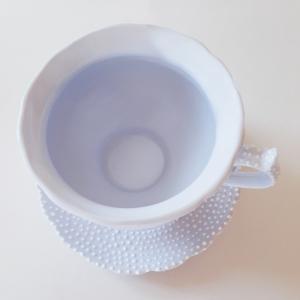 Чайная пара небесно-голубая