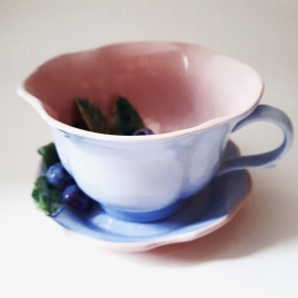 """Чайный набор """"Черника"""""""