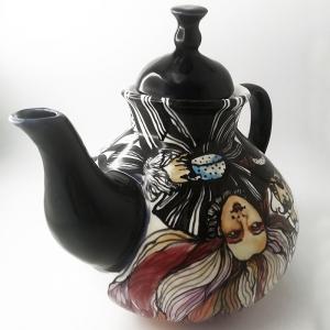 Чайник большой доливной гостевой из фарфора